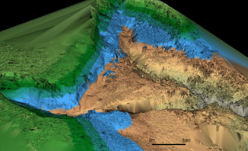Use of Terrestrial 3D Laser Scanner in Cartographing and Monitoring