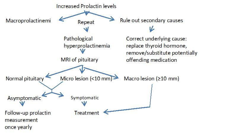 Prolactin hormone imbalance symptoms