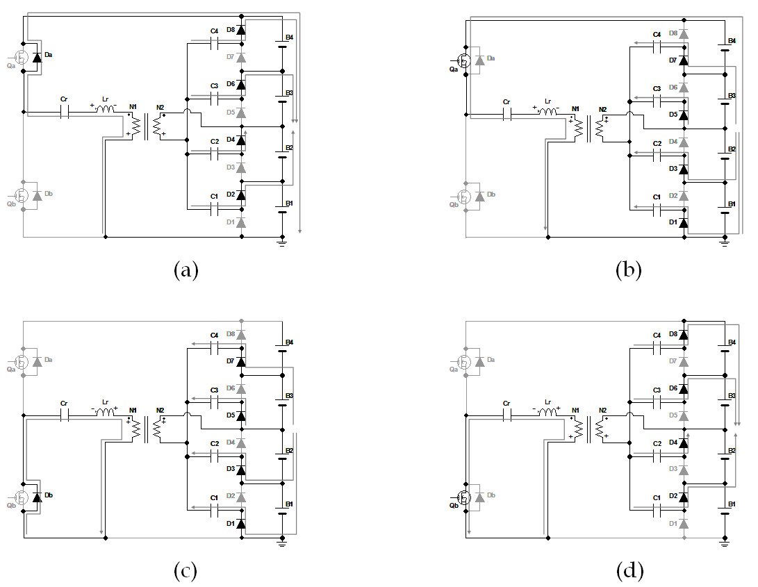 Single And Double Switch Cell Voltage Equalizers For Series Simplest Singlecell Supercap Charging Circuit Figure 18