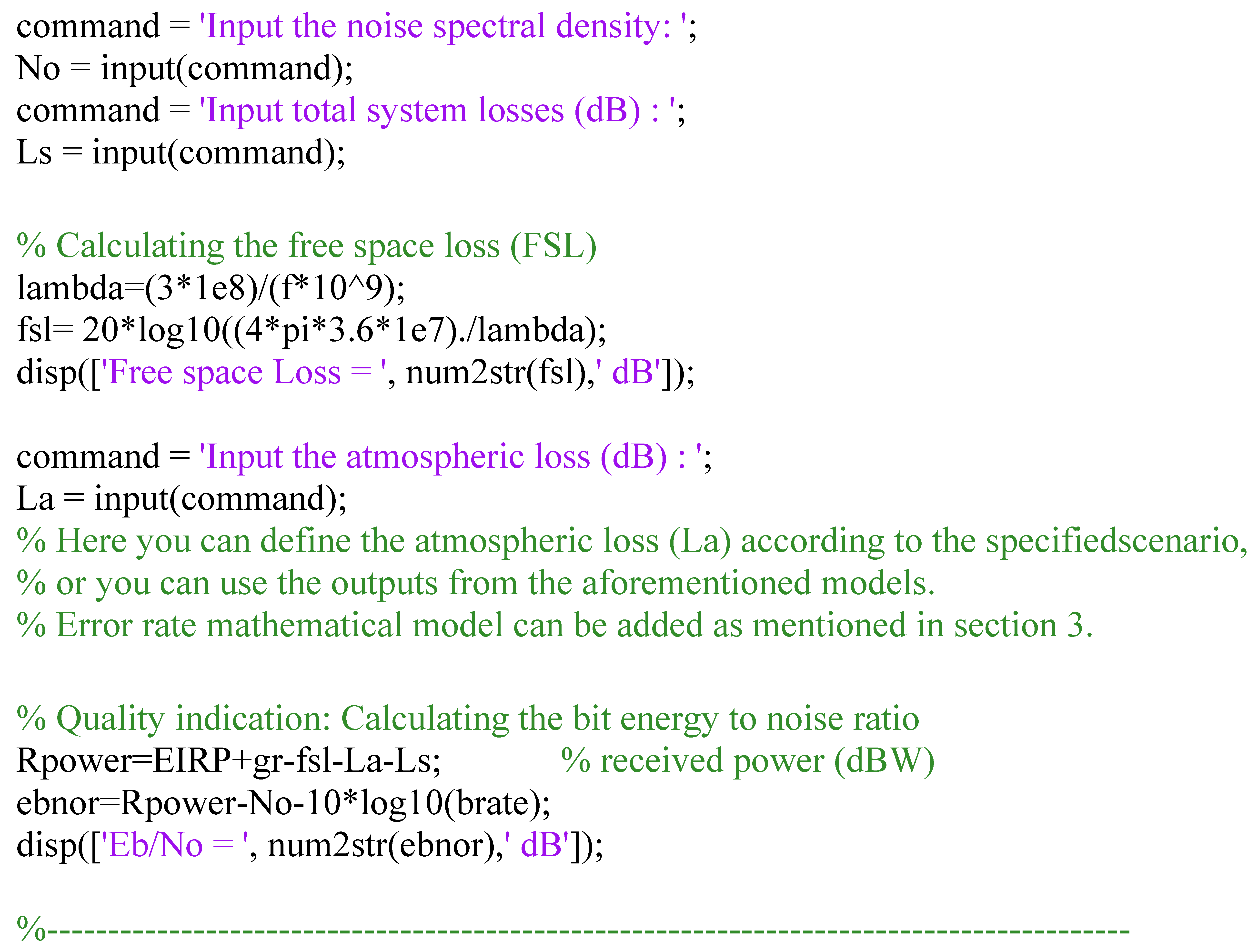 Atmospheric Propagation Model for Satellite Communications | IntechOpen