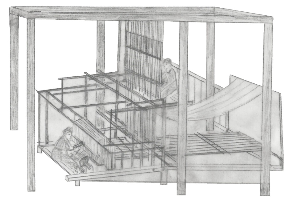 Weaving Complex Patterns — From Weaving Looms to Weaving Machines