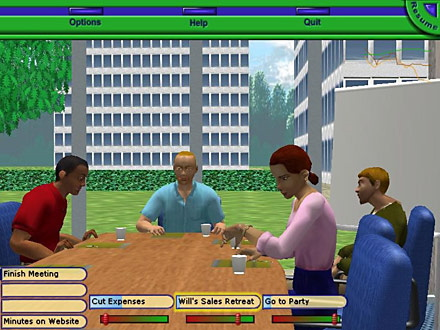 Challenges of Business Simulation Games — A New Approach of