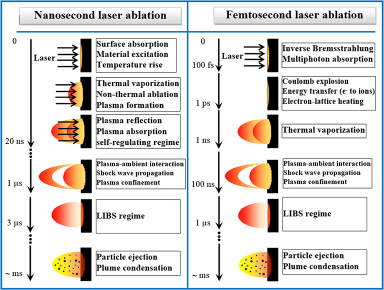 Effects of Different Laser Pulse Regimes (Nanosecond