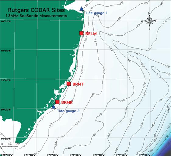 Coastal Tsunami Warning with Deployed HF Radar Systems