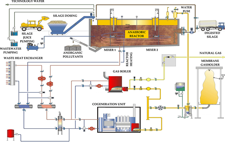 Maize Silage as Substrate for Biogas Production | IntechOpen