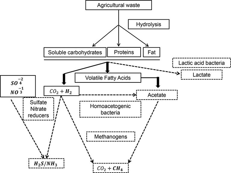 Review Of Continuous Fermentative Hydrogen Producing Bioreactors