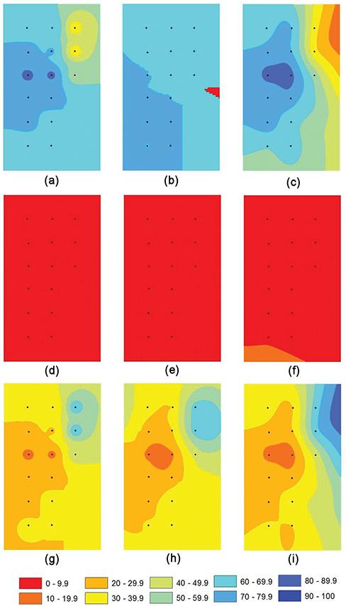 Comparison of Spatial Interpolation Techniques Using Visualization