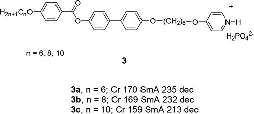 Ionic Liquid Crystals Based on Pyridinium Salts | IntechOpen