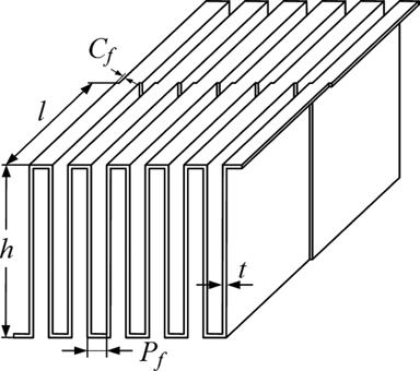 Comprehensive Study of Compact Heat Exchangers with Offset