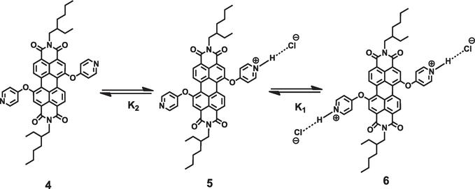 amphiphilic ionic perylenediimides  structures  self