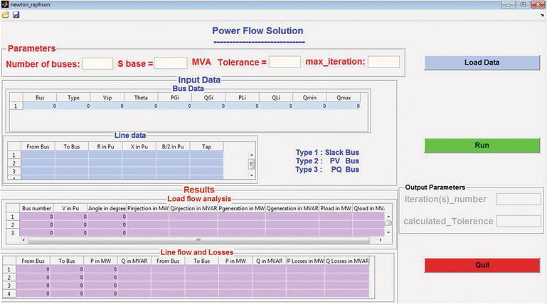 Electric Power System Simulator Tool in MATLAB | IntechOpen