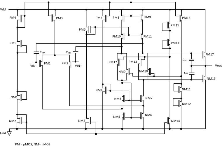 Operational Amplifier Design in CMOS at Low-Voltage for ...