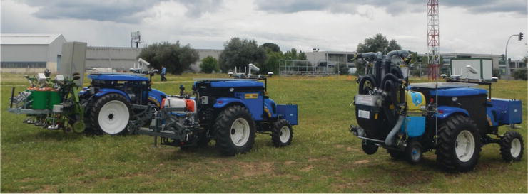 Robots in Agriculture: State of Art and Practical Experiences