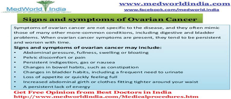 Ovarian Cancer and Pregnancy | IntechOpen