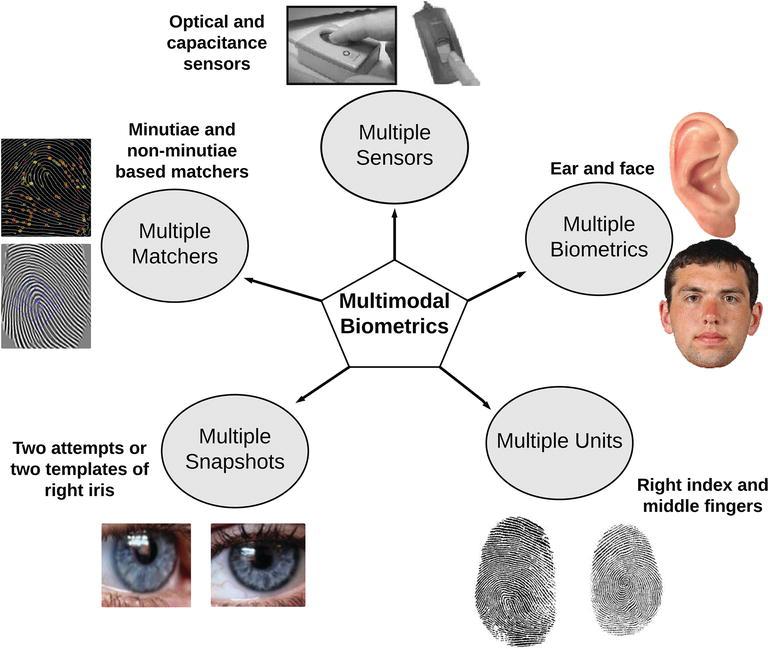 Person Identification Using Multimodal Biometrics under