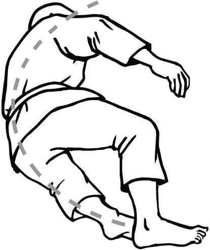 Diagnosis Of Motor Habits During Backward Fall With Usage Of