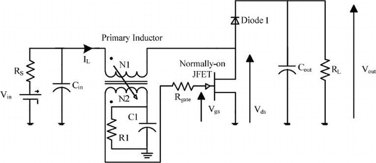 self oscillatory dc dc converter circuits for energy harvesting inWiring Diagram 58662 Circuit And Wiring Diagram Download #8
