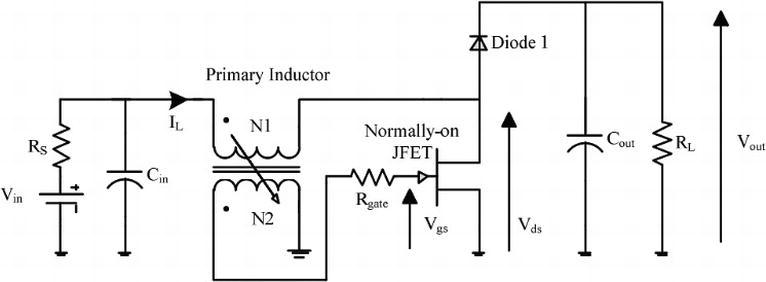 self oscillatory dc dc converter circuits for energy harvesting inWiring Diagram 58662 Circuit And Wiring Diagram Download #15