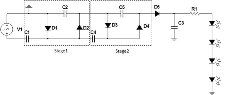 Positive Voltage Doubling Circuit Using Icl7660 Voltage Doubler