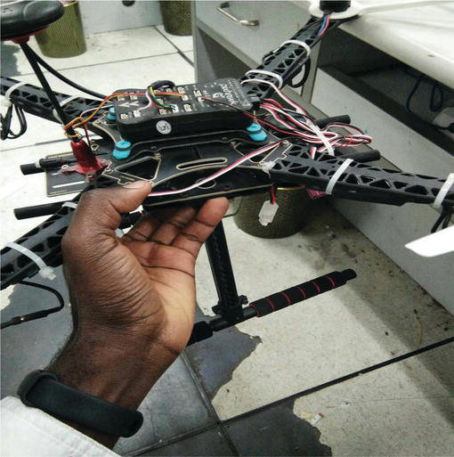Smart Arduino Sensor Integrated Drone for Weather Indices: Prototype