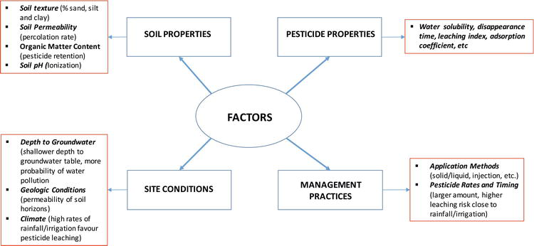 Environmental Risk of Groundwater Pollution by Pesticide