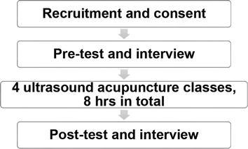 Ultrasound Detection Acupuncture Needling Training