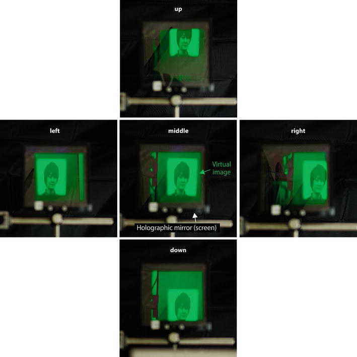 Holographic Pepper's Ghost: Upright Virtual-Image Screen Realized by