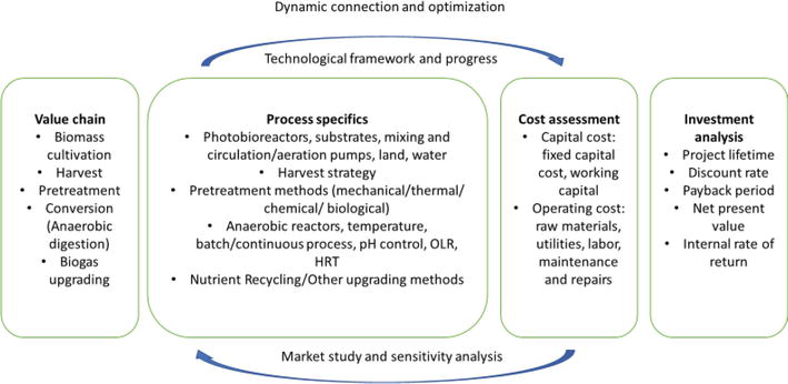 Techno-Economic Analysis of Biogas Production from