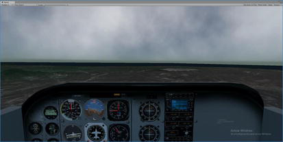 A New Real-Time Flight Simulator for Military Training Using