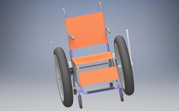Development of a Rough Terrain Wheelchair Design | IntechOpen